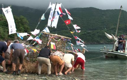 佐田岬半島の初盆行事