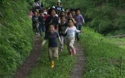 里山保育が子どもを変える